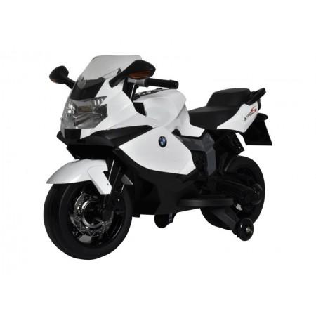 Motorka elektrická BEC 6010 BMW K1300 BUDDY TOYS biela