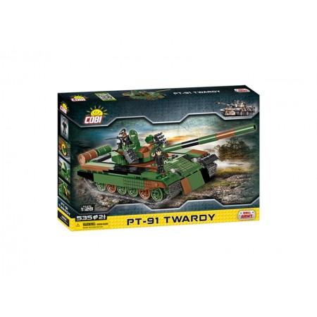 Stavebnica Small Army Tank PT91 Twardy, 535 k, 2 f