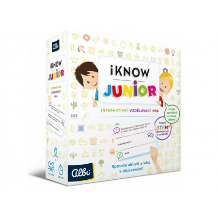 Hra stolná Albi iKnow: Junior