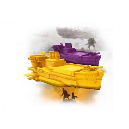 Hra stolná Albi Scythe: Titáni Nebies