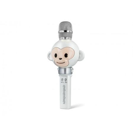 Karaoke mikrofón FOREVER AM-100 WHITE