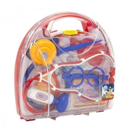 Detský doktor TEDDIES v kufríku 9ks