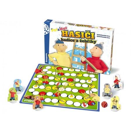 Stolná hra BONAPARTE Hasiči hadice a rebríky Pat a Mat