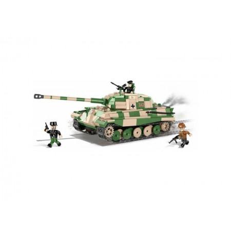 Stavebnica COBI 2480 Small Army II WW PzKpfw VI Tiger II, 630 k, 3 f