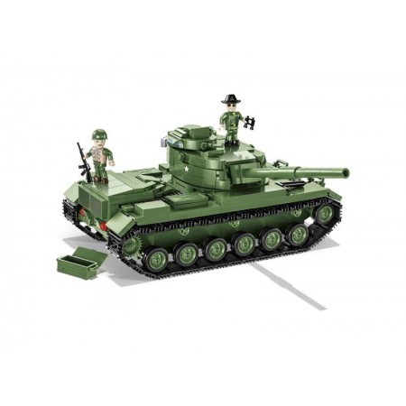 Stavebnica COBI 2233 Small Army M60 Patton MBT, 605 k, 2 f