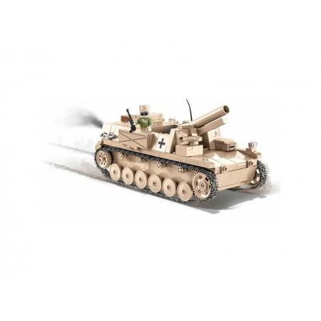 Stavebnica COBI 2528 Small Army II WW 15cm sIG 33 auf Fahrgestell Panzerkampfwagen II, 465 k, 1 f