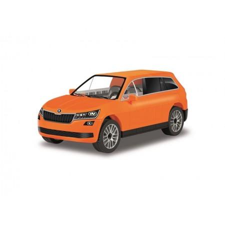 Stavebnica COBI 24572 Škoda Kodiaq oranžová
