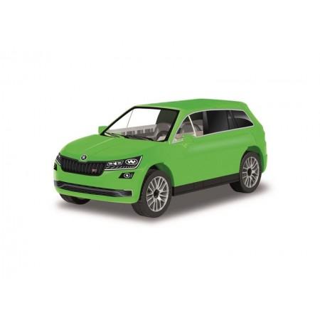 Stavebnica COBI 24573 Škoda Kodiaq VRS zelená