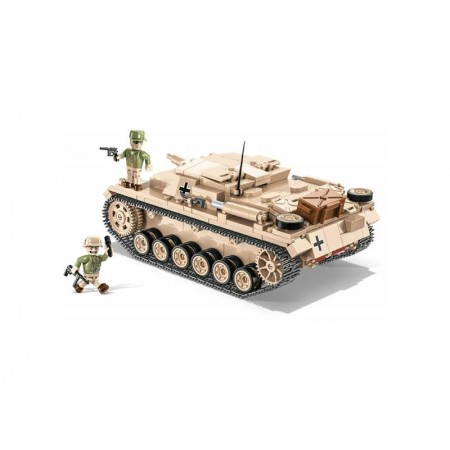 Stavebnica COBI 2529 II WW Sturmgeschutz III Ausf. D - DAK, 530 k, 2 f