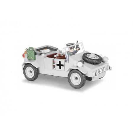 Stavebnica COBI 2187 Small Army II WW VW Kubelwagen typ 82, 150 k, 1 f