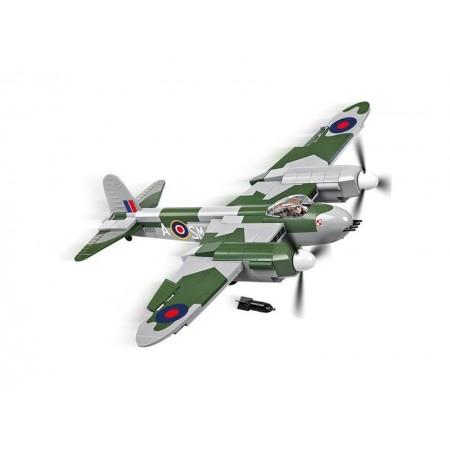 Stavebnica COBI 5542 Small Army II WW De Havilland Mosquito, 370 k, 1 f