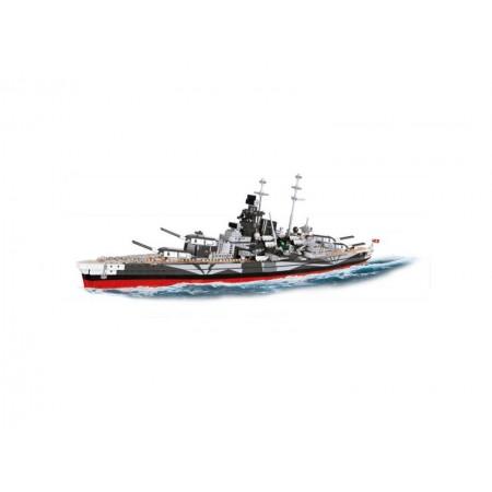 Stavebnica COBI 3085 WOWS Bitevník Tirpitz, 1:300, 2000 k