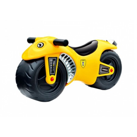 Odrážadlo motorka G21 žltá