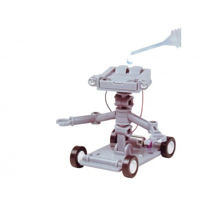 Stavebnica robot-auto na pohon slanou vodou