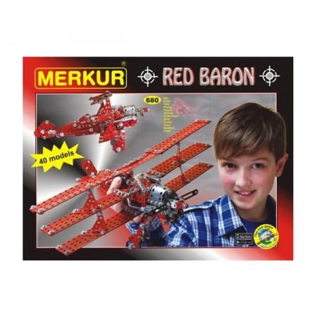 Stavebnica MERKUR RED BARON