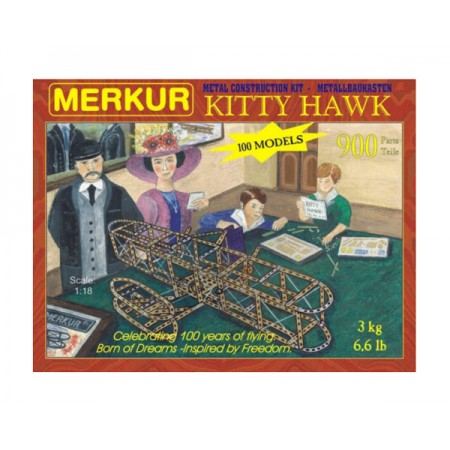 Stavebnica MERKUR KITTY HAWK