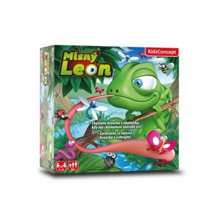 Hra stolná KIDZCONCEPT Maškrtný Leon