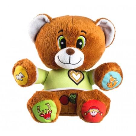 Detský plyšový medvedík TEDDIES Vojtík hovoriaci česky