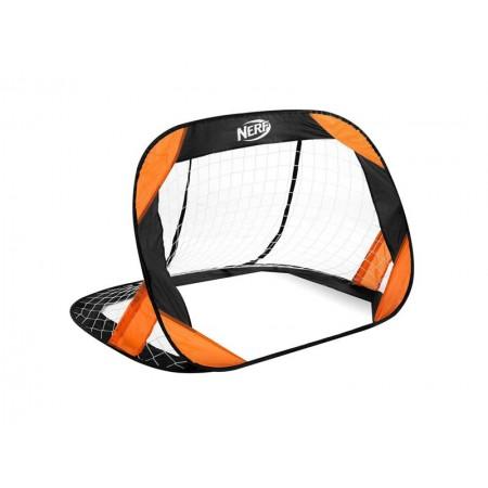 Bránka futbalová HASBRO BUCKLER NERF 2 ks čierno-oranžová