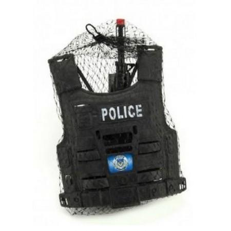 Detská policajná sada TEDDIES s príslušenstvom