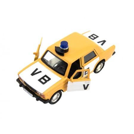 Detské policajné auto TEDDIES VB 11.5 cm