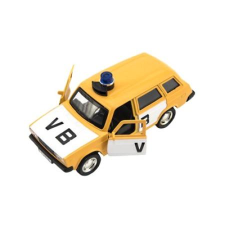 Detské policajné auto TEDDIES VB kombi so zvukom 11.5cm