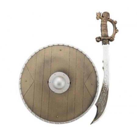 Detský rytiersky meč so štítom TEDDIES 40cm