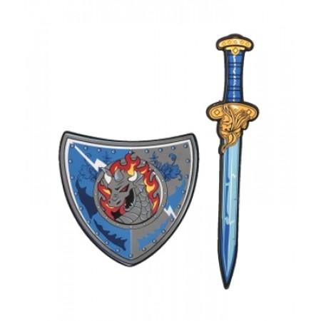 Detský rytiersky meč so štítom TEDDIES 53cm