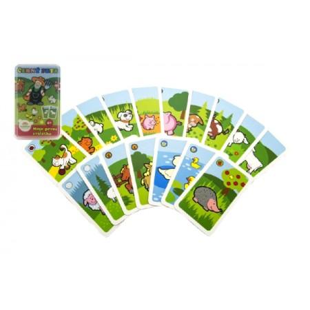 Kartová hra TEDDIES Čierny Peter Moje prvé zvieratká