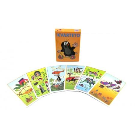 Kartová hra TEDDIES Kvarteto Krtko 2