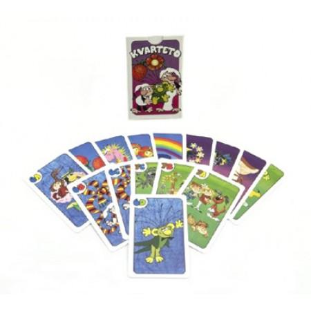 Kartová hra BONAPARTE Kvarteto Poď s nami do rozprávky