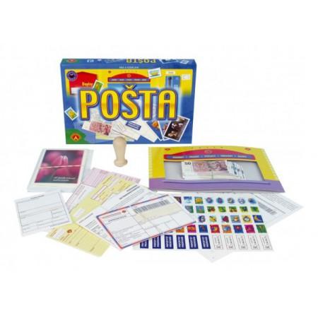 Hra vzdelávacia PEXI Pošta