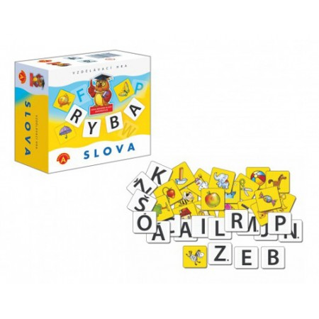 Hra vzdelávacia PEXI Slová