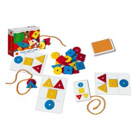 Hra vzdelávacia PEXI Tvary, farby, pamäť