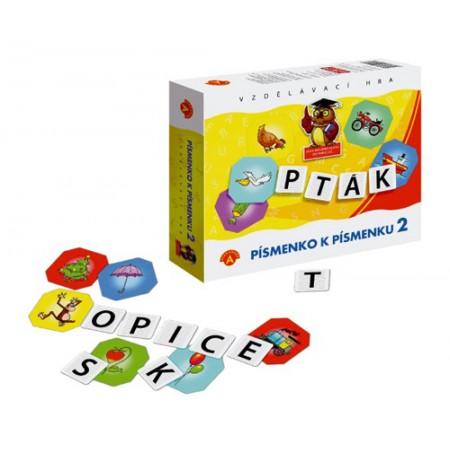 Hra vzdelávacia PEXI Písmenko k písmenku 2