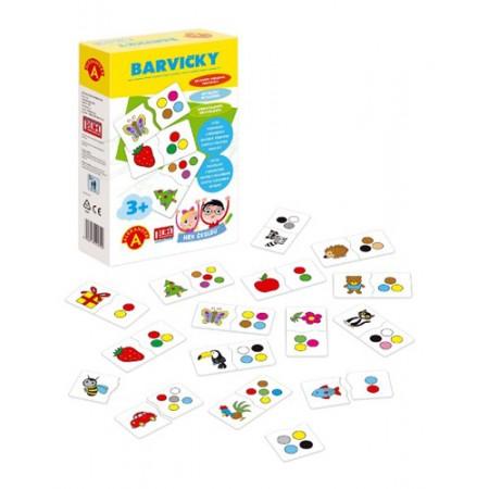 Hra vzdelávacia PEXI Hra školou - Farbičky