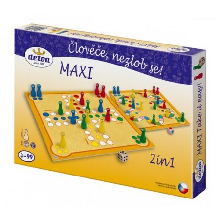 Hra stolná DETOA Maxi Človeče, nehnevaj sa!