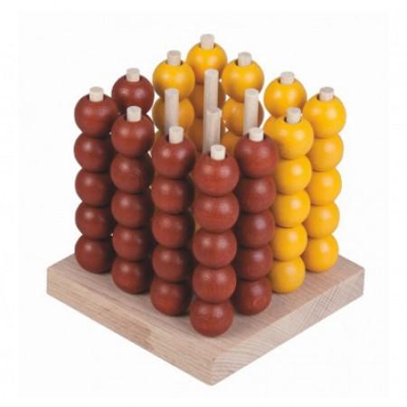 Hra stolná DETOA Piškvorky drevené