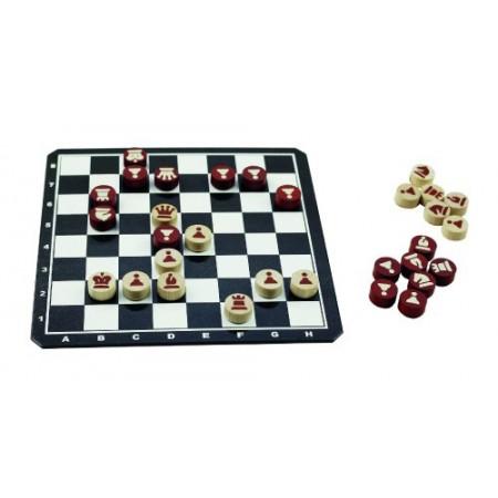Hra stolná DETOA Šach magnetický drevený
