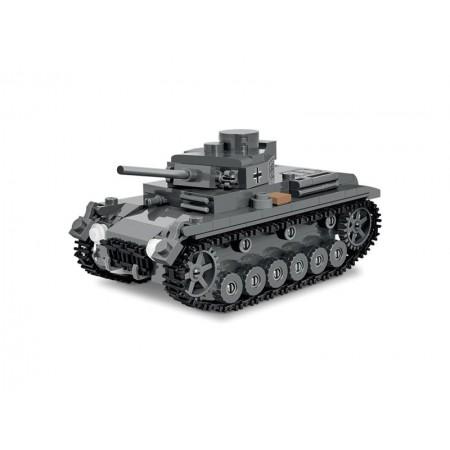 Stavebnica COBI 3062 WOT Pz. Kpfw. III Ausf. J, 1:48, 286 k