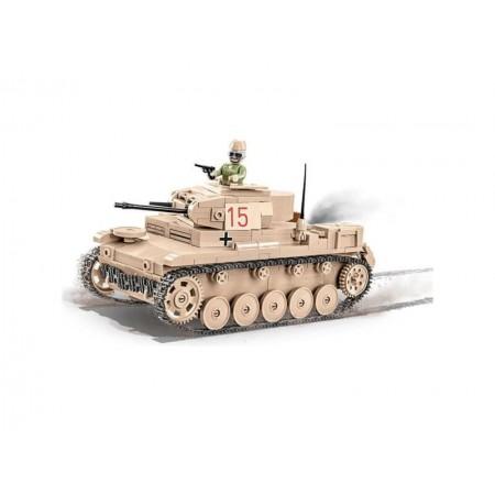 Stavebnica COBI 2527 WWII Ľahký tank Sd.Kfz. 121 PANZER II Ausf. F