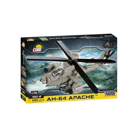 Stavebnica COBI 5808 Armed Forces AH-64 Apache, 1:48