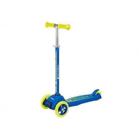 Kolobežka REBEL KIDS WHEELS ZAB0121Y žlto-modrá