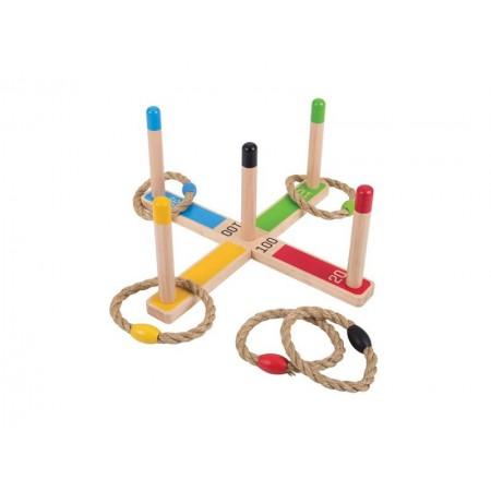 Detská drevená hra BIGJIGS TOYS Hádzanie