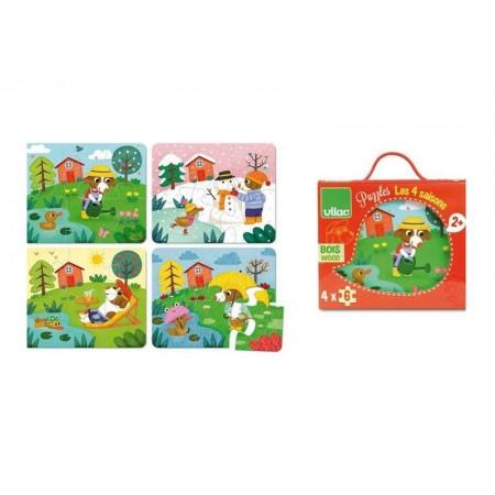Detské puzzle 4 ročné obdobia VILAC