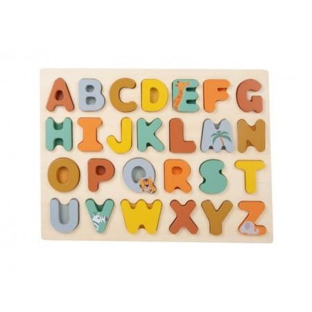 Detské puzzle abeceda SMALL FOOT Safari