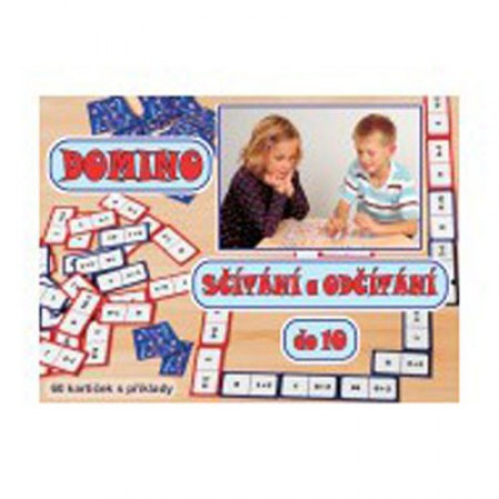 Hra Domino sčítanie a odčítanie