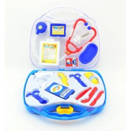 Sada DOKTOR detská v plastovom kufríku 16ks