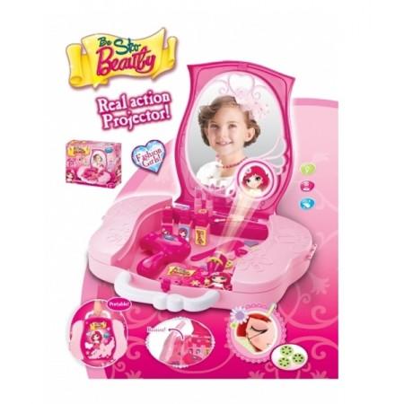 Kufrík detský G21 kozmetický s príslušenstvom