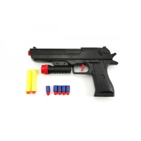 Pištoľ detská TEDDIES GLOCK penové náboje